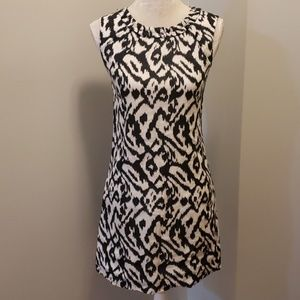 ANN TAYLOR LOFT Linen Sleeveless Dress sz 00 EUC
